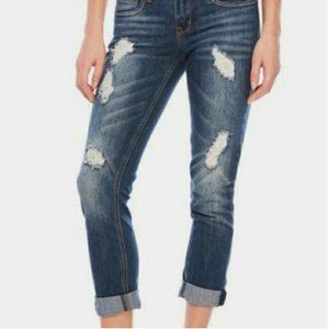 Dollhouse Charley Distressed Jeans Ankle Sz 3